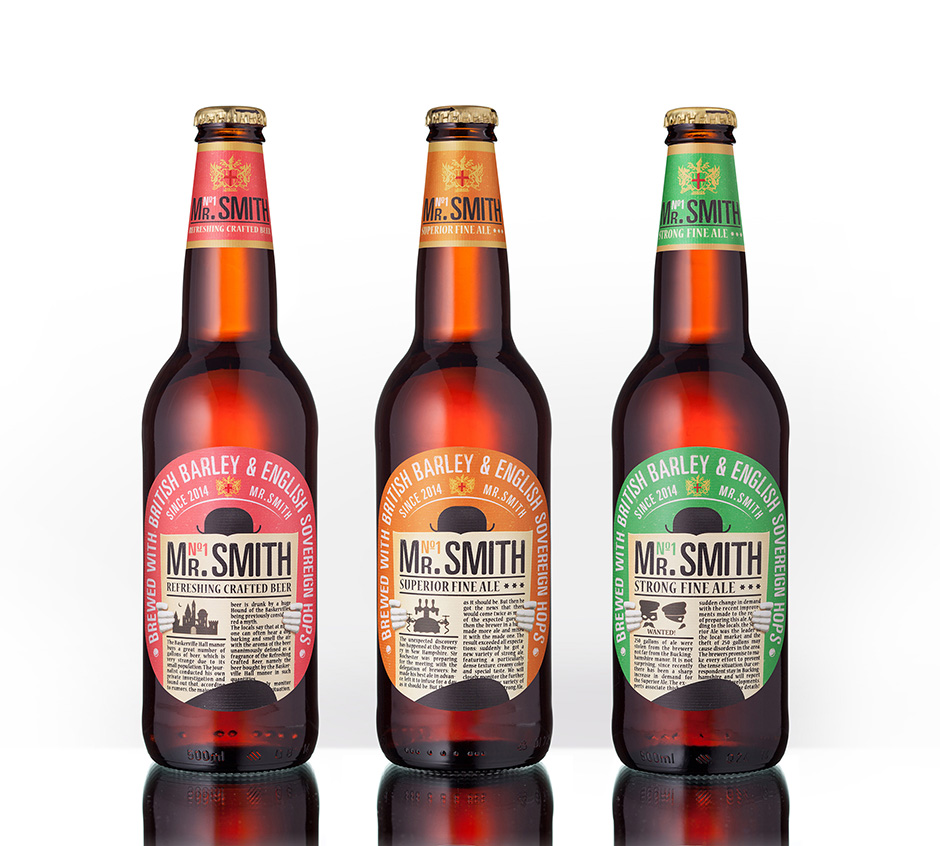 Mr Smith - craft beer development - VIEWPOINT – branding agency
